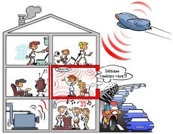 Risultati immagini per rumori molesti dai vicini